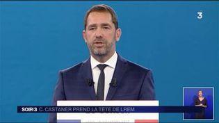 Christophe Castaner a été élu délégué général de LREM. (FRANCE 3)