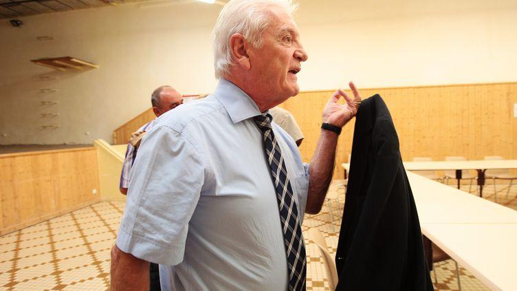 Le sénateur PS Philippe Madrelle, à Bordeaux, le 19 septembre 2014. (MAXPPP)