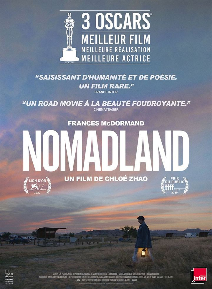"""L'affiche de""""Nomadland"""" deChloé Zhao (2020). (THE WALT DISNEY COMPANY)"""