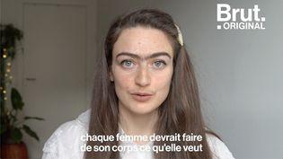 """VIDEO. """"J'ai décidé de ne pas m'épiler le visage, chaque femme doit faire de son corps ce qu'elle veut"""", estime Eldina (BRUT)"""