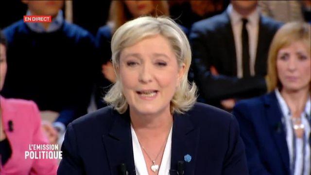 Quand Marine Le Pen se contredit sur le nucléaire