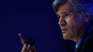L'ancien porte-parole du gouvernement Stéphane Le Foll exagère le poids des fermetures d'entreprises au début du quinquennat de François Hollande. (CHARLY TRIBALLEAU / AFP)
