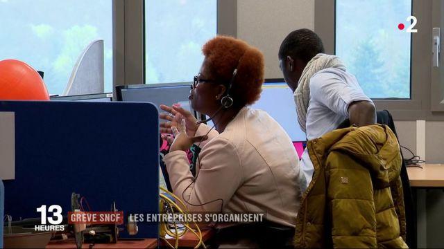 La grève à la SNCF développe l'entraide et le télétravail