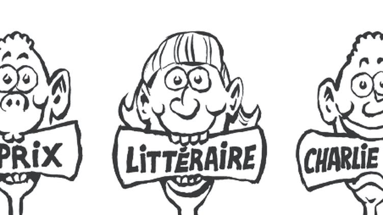 Le journal Charlie Hebdo a lancé mardi 21 février la deuxième édition de son prix littéraire pour les jeunes,en partenariat avec franceinfo. (CHARLIE HEBDO)