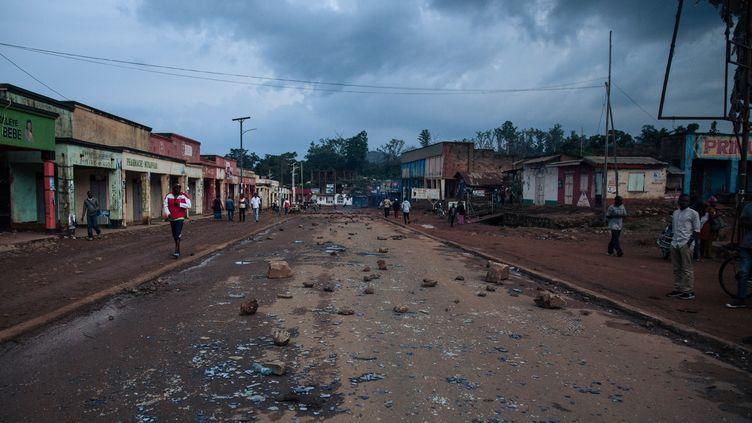 À Beni et Butembo, les élections ont été reportées au mois de mars 2019,officiellement en raison de l'épidémie d'Ebola et des violences. (ALEXIS HUGUET / AFP)