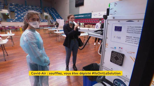 Covid-air, un nouvel outil de dépistage en test à Lyon