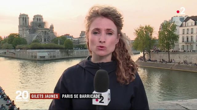 """""""Gilets jaunes"""" : Paris se barricade pour le 23e samedi de manifestations"""
