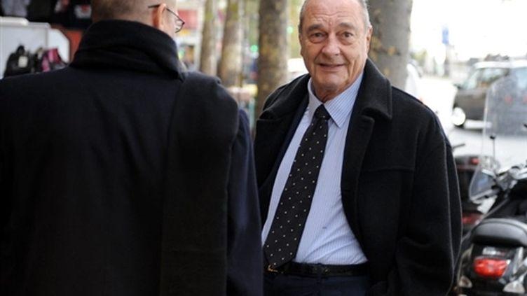 Jacques Chirac (2 novembre 2009) (© AFP / Lionel Bonaventure)