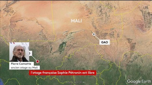 ITV Pierre Camatte, ancien otage au Mali