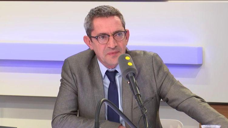 Francis Pousse, président de la branche carburant du CNPA (Conseil national des professions de l'automobile). (FRANCEINFO / RADIOFRANCE)