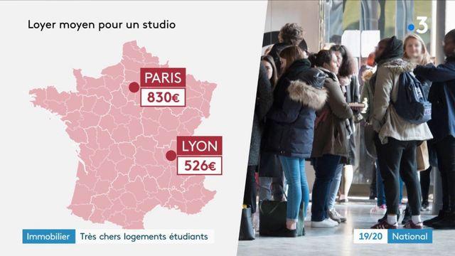 Immobilier : le prix des logements étudiants augmente encore