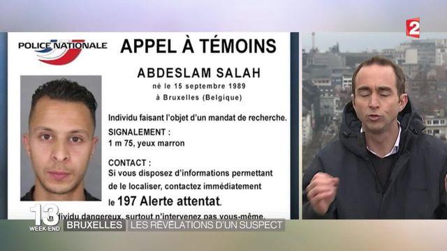 Attentats de Paris : Salah Abdeslam serait à Bruxelles