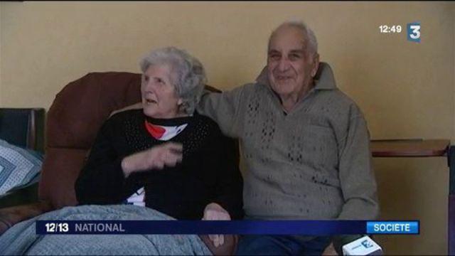 Haut-Rhin : Yvonne et Nicolas célèbrent leurs 70 ans de mariage