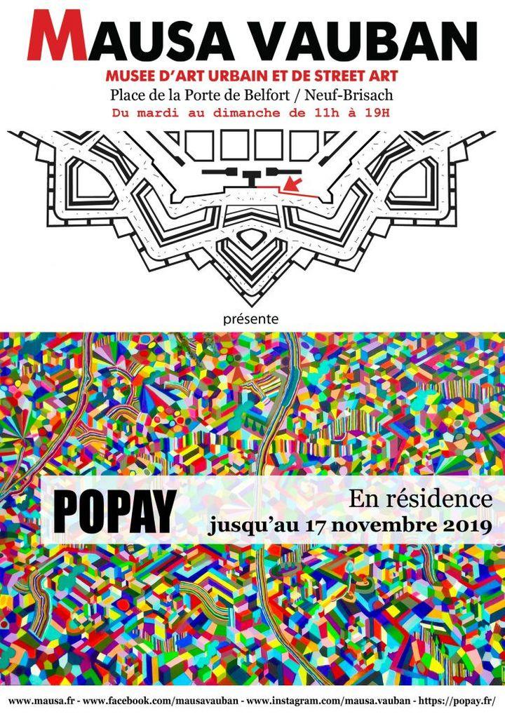 affiche résidence de Popay au Musa Vauban (Musa Vauban)