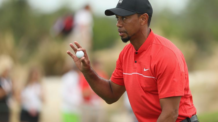 Le golfeur américain Tiger Woods (CHRISTIAN PETERSEN / GETTY IMAGES NORTH AMERICA)