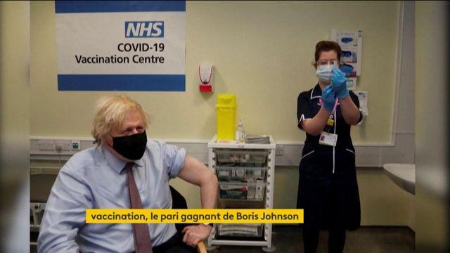 Royaume-Uni : la campagne de vaccination britannique, un triomphe pour Boris Johnson