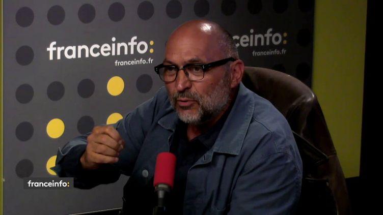 Xavier Denamur, restaurateur invité des Informés de franceinfo du 9 août 2018 (FRANCEINFO)