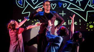 New, la comédie musicale improvisée (Photo Christine Coquilleau)