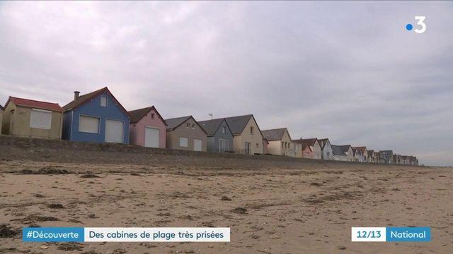 Manche : les très prisées cabines de plage de Ravenoville
