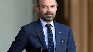 Edouard Philippe après une réunion à l'Elysée, à Paris, le 21 novembre 2018. (MUSTAFA YALCIN / ANADOLU AGENCY / AFP)