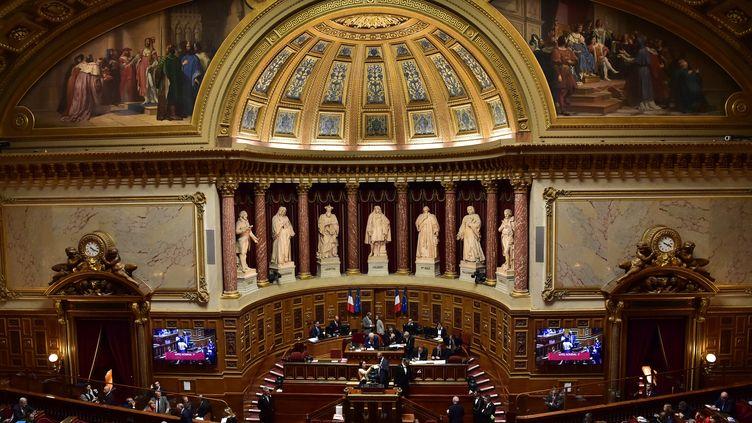 Le Sénat en octobre 2017. (CHRISTOPHE ARCHAMBAULT / AFP)