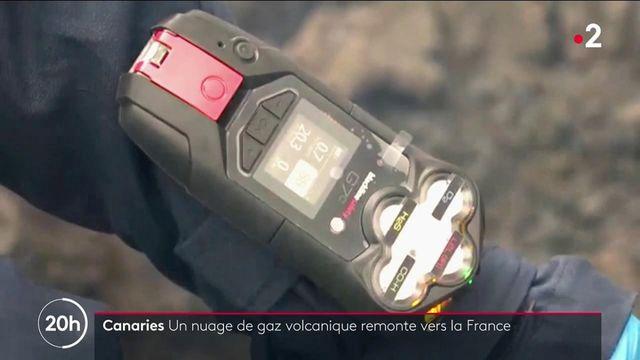 Volcan aux Canaries : un nuage de gaz irritant remonte vers la France