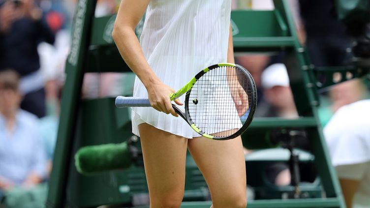 La joueuse canadienne Eugénie Bouchard lors du tournoi de Wimbledon en 2016 (DAVE SHOPLAND / BACKPAGE IMAGES LTD)