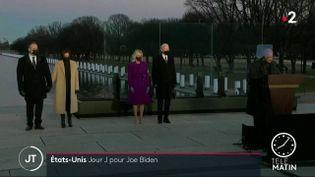 Joe Biden à Washington. (France 2)