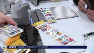 Le prix des timbres augmente au 1er janvier. (FRANCE 3)