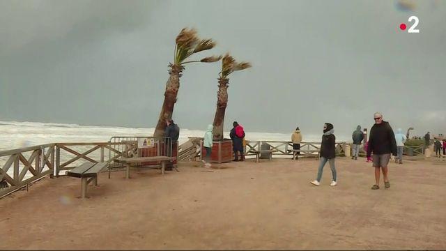 Tempête Amélie : dégâts importants sur la façade atlantique