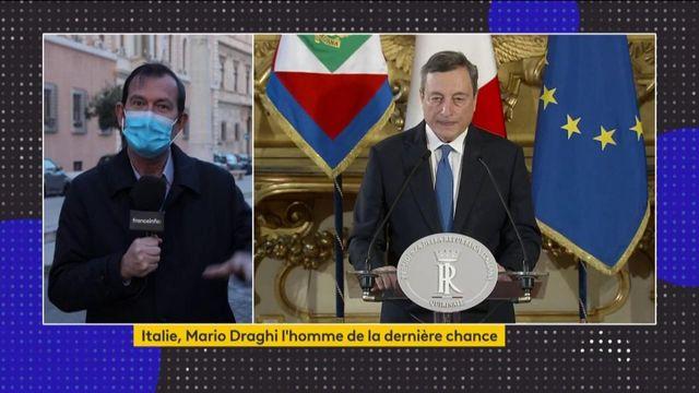Italie : Mario Draghi appelé à la rescousse pour former un nouveau gouvernement