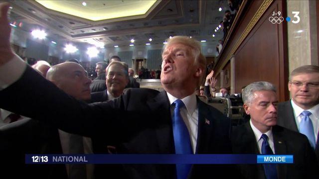 Discours de l'état de l'Union : Trump se félicite de son bilan