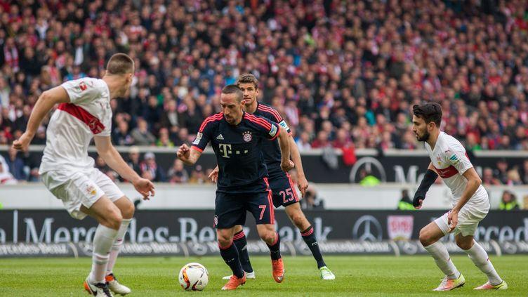 "Franck Ribéry a retrouvé la ""forme"" avec le Bayern (BARTEK LANGER / NURPHOTO)"