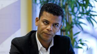 Maître Yassine Bouzrou, avocat de plusieurs famillesconcernées par l'affaire du lait contaminé Lactalis. (SILVERE GERARD / MAXPPP)