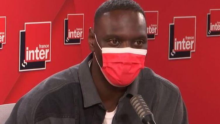 Omar Sy était l'invité de France Inter mardi 1er juin 2021. (FRANCE INTER)