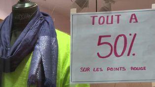 Confinement : les commerces non-essentiels ferment pour quatre semaines (CAPTURE D'ÉCRAN FRANCE 3)