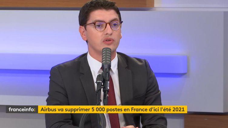 Mickaël Nogal, député LREM de Haute-Garonne. (RADIO FRANCCE)