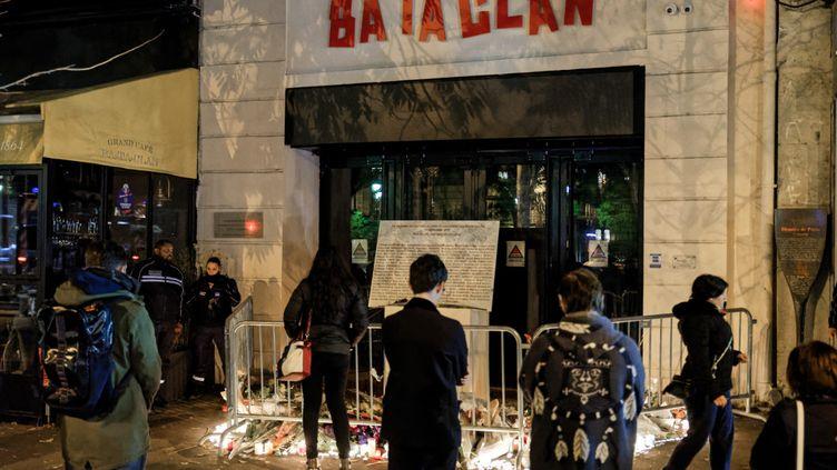 Le Bataclan le 13 novembre 2018. (DANIEL PIER / NURPHOTO)