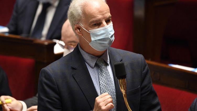 Alain Griset, ministredélégué aux PME, à l'Assemblée nationale le 17 novembre 2021. (BERTRAND GUAY / AFP)