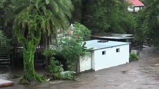 Le jeudi 18 janvier a été marqué par le passage de la tempête Berguitta sur l'île de La Réunion. (France 2)
