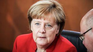 La chancelière allemande Angela Merkel, le 28 septembre 2016 (MICHAEL KAPPELER / DPA)