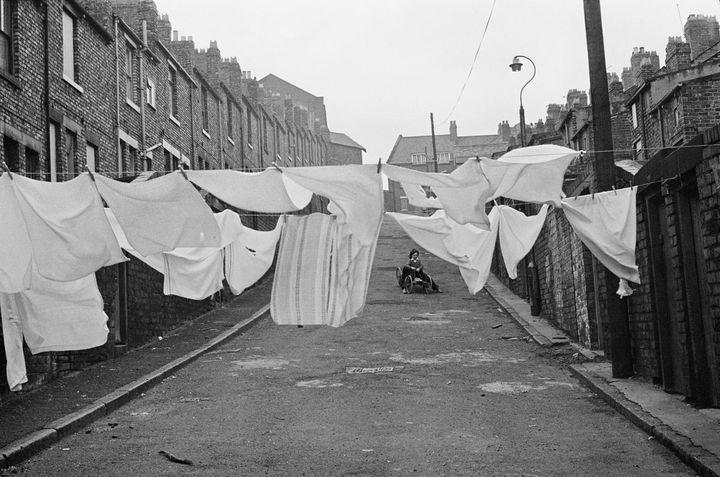 """Martine Franck, """"Quartier de Byker, Newcastle upon Tyne, Royaume-Uni"""", 1977  (Martine Franck / Magnum Photos)"""