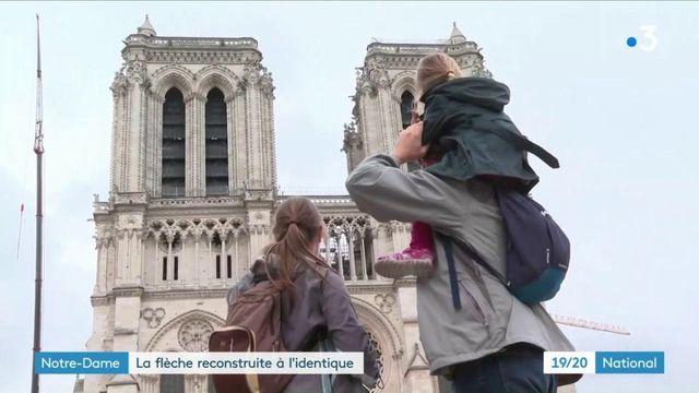 Notre-Dame de Paris : la flèche de la cathédrale sera reconstruite à l'identique