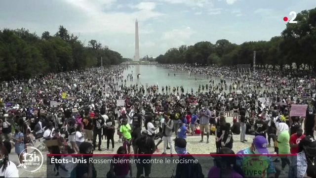 États-Unis : une foule manifeste contre le racisme et les violences policières