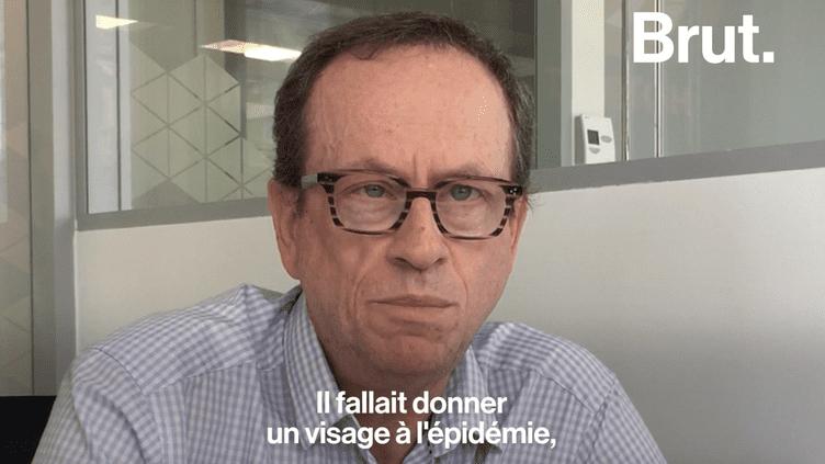 Un ancien président d'Act Up-Paris raconte l'enfer du sida dans les années 90 (Brut)