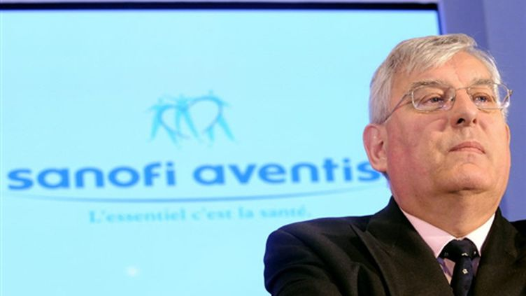 Jean-François Dehecq, le président du conseil d'administration du groupe Sanofi-Aventis (2008) (AFP)