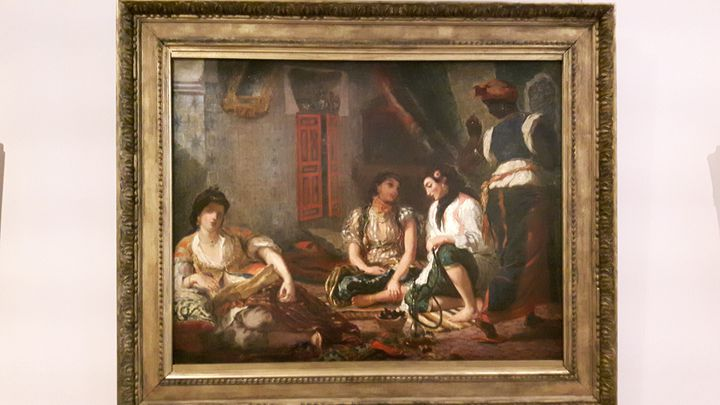 Les femmes d'Alger d'après Eugène Delacroix par Henri Fantin-Latour. (ANNE CHEPEAU / RADIO FRANCE)