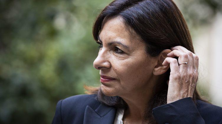 La maire de Paris Anne Hidalgo à New York (Etats-Unis) le 17 septembre 2021. (MAXPPP)