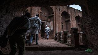 Les églises souterraines de Lalibela en Ethiopie.  (EDUARDO SOTERAS / AFP)