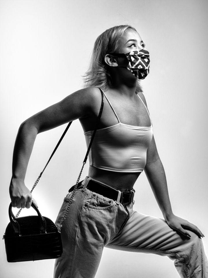 Le masque, nouvel accessoire de mode. (Eric Traversié)